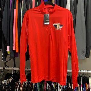 Fanatics Pelicans Red quarter zip up jacket